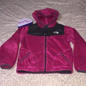 Girls The North Face Fleece Full-Zip Hoodie
